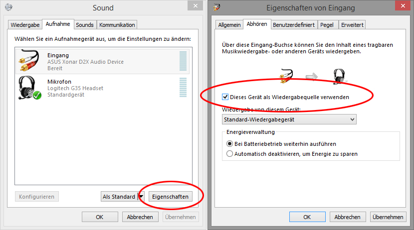 Audio-LineIn-Settings